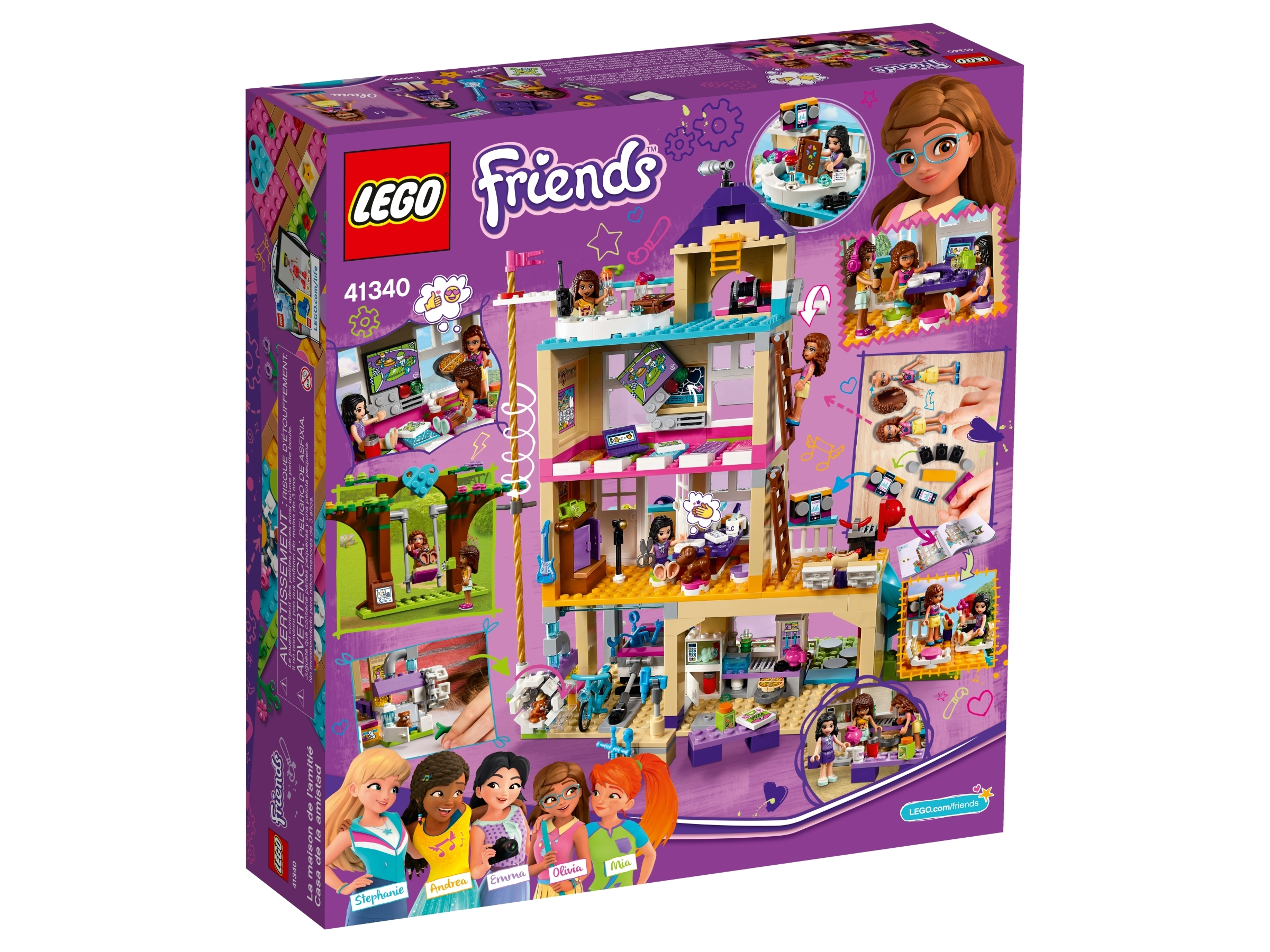 Friendship House 41340 Friends Buy Online At The Official Lego Shop Ca