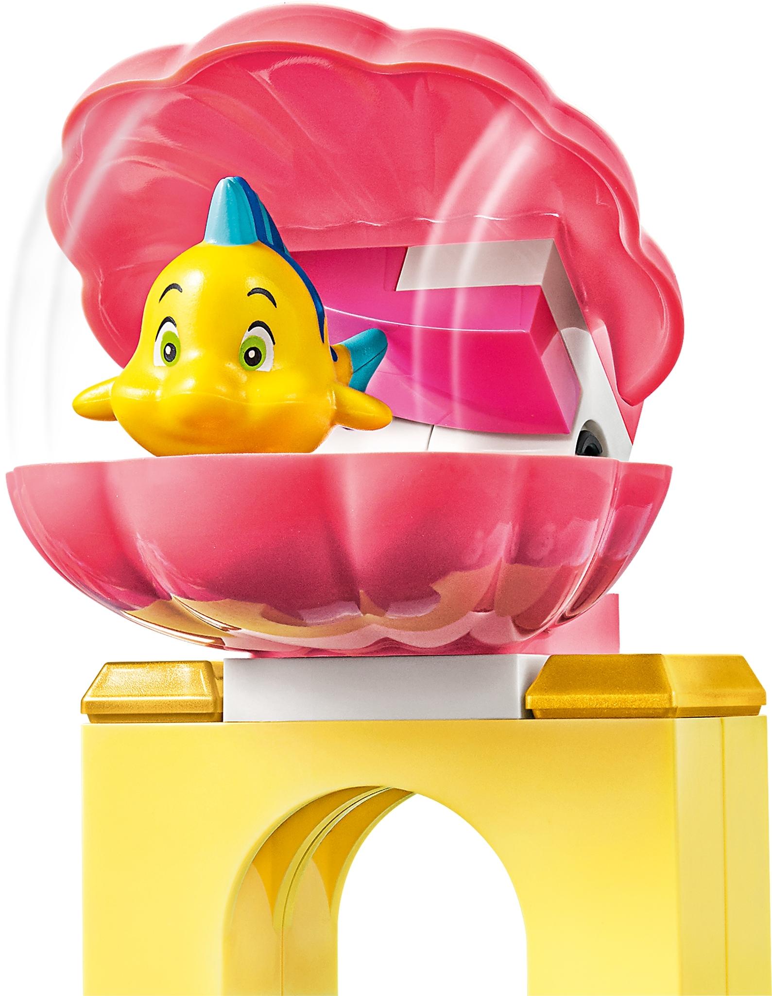 *NEW* Lego Flounder Fish Yellow Little Mermaid Ocean Water Bath Settings x 1