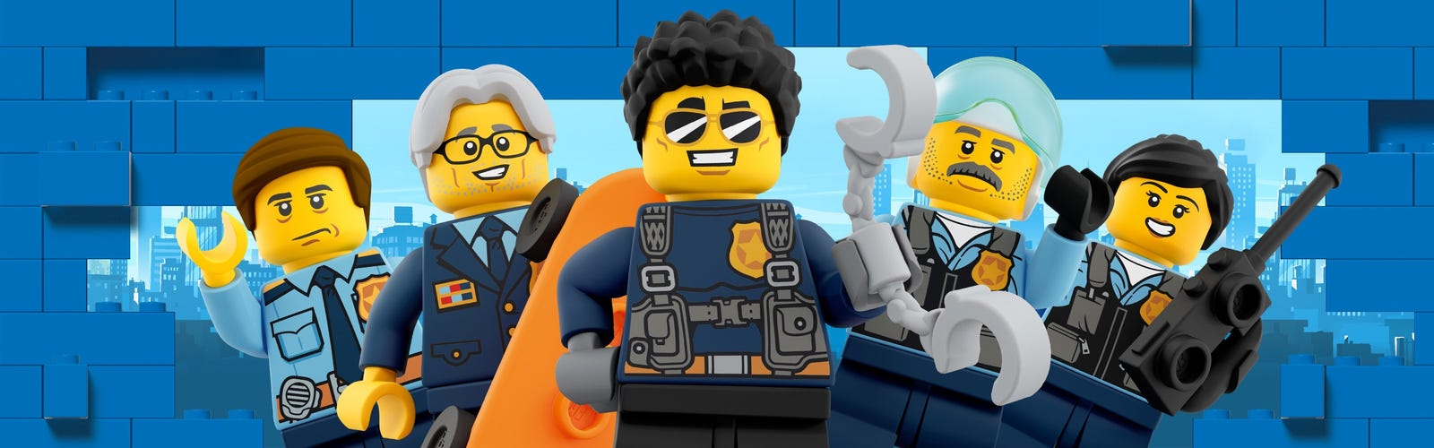 Lego City Police Toys For Boys And Girls Official Lego Shop Us