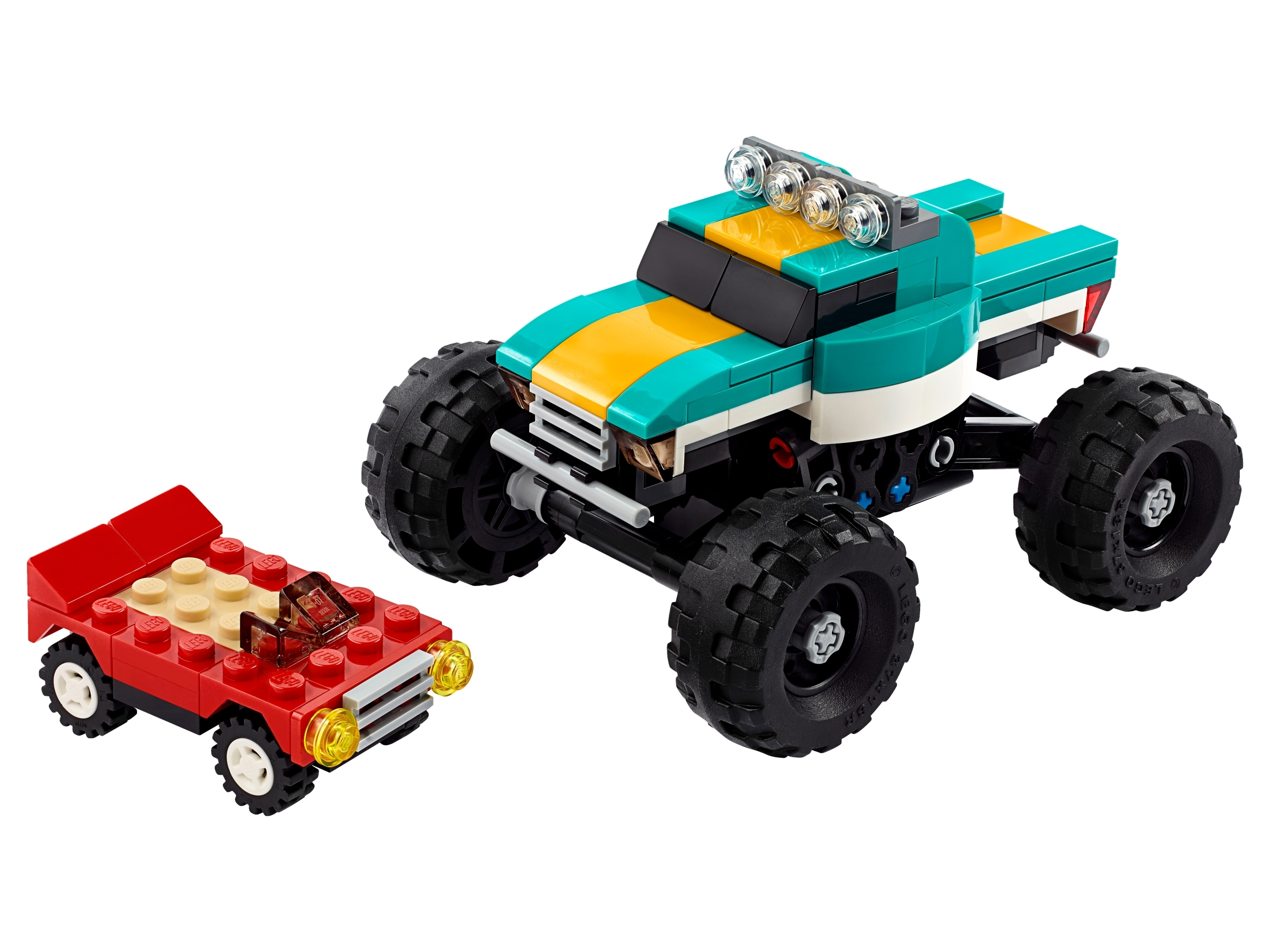 Monster Truck 31101 Creator 3 In 1 Buy Online At The Official Lego Shop Us