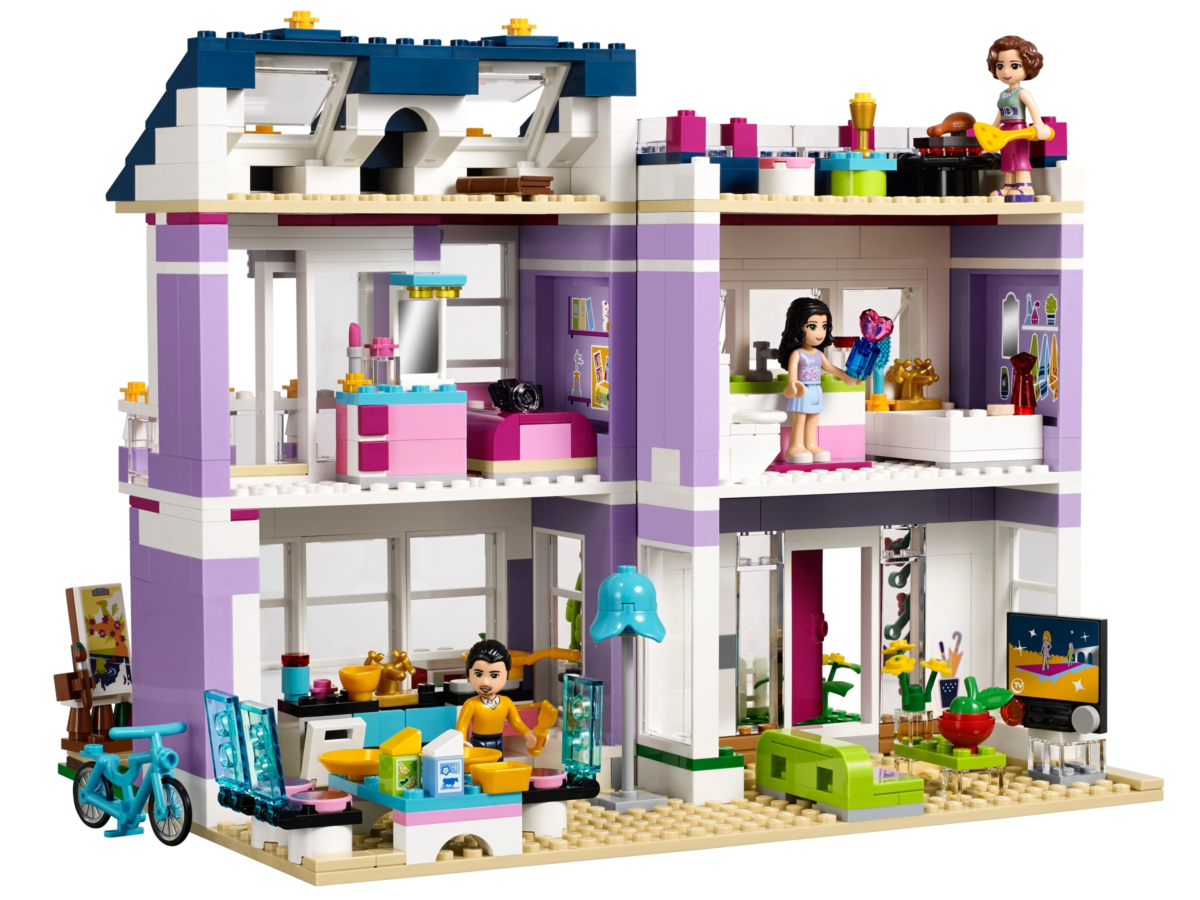 Emma S House 41095 Friends Buy Online At The Official Lego Shop Us