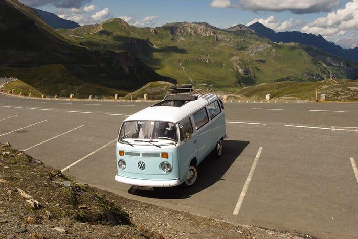 Il camper di Sven in Austria