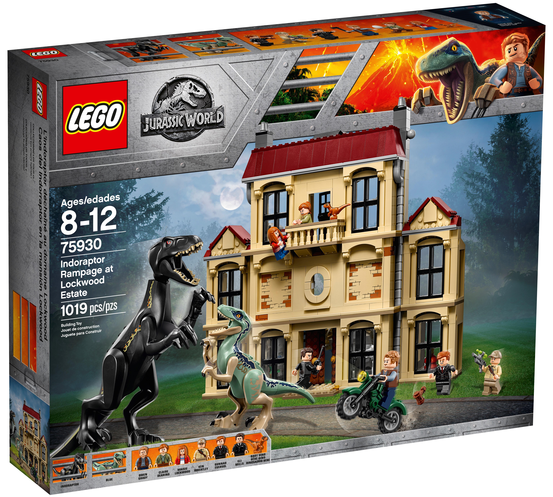 75930 LEGO Jurassic World Indoraptor Rampage At Lockwood Estate 1019 Pcs Age 8+