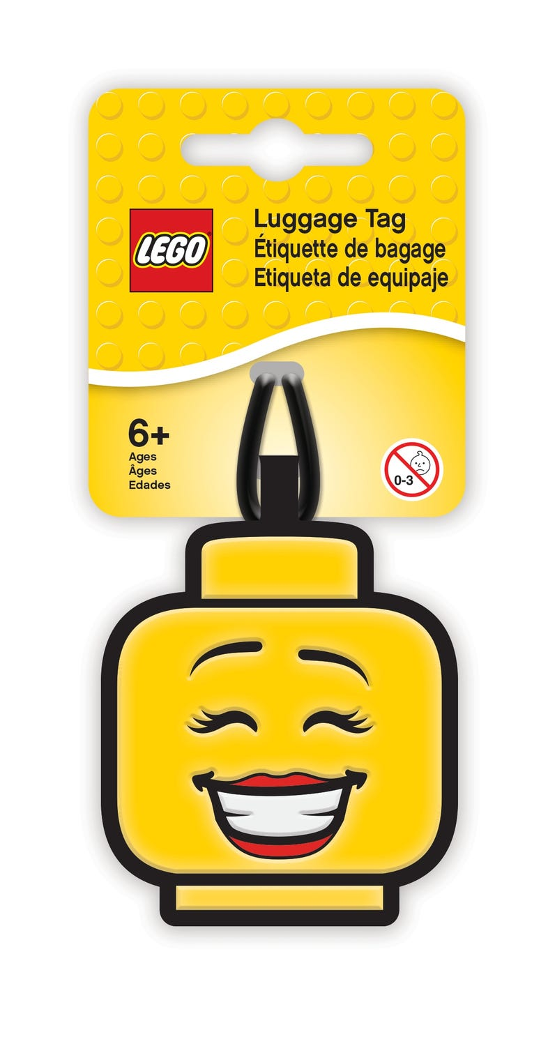LEGO® Girl Luggage Tag
