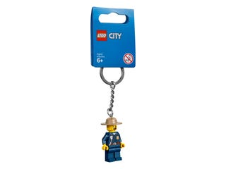 Mountain Police Key Chain