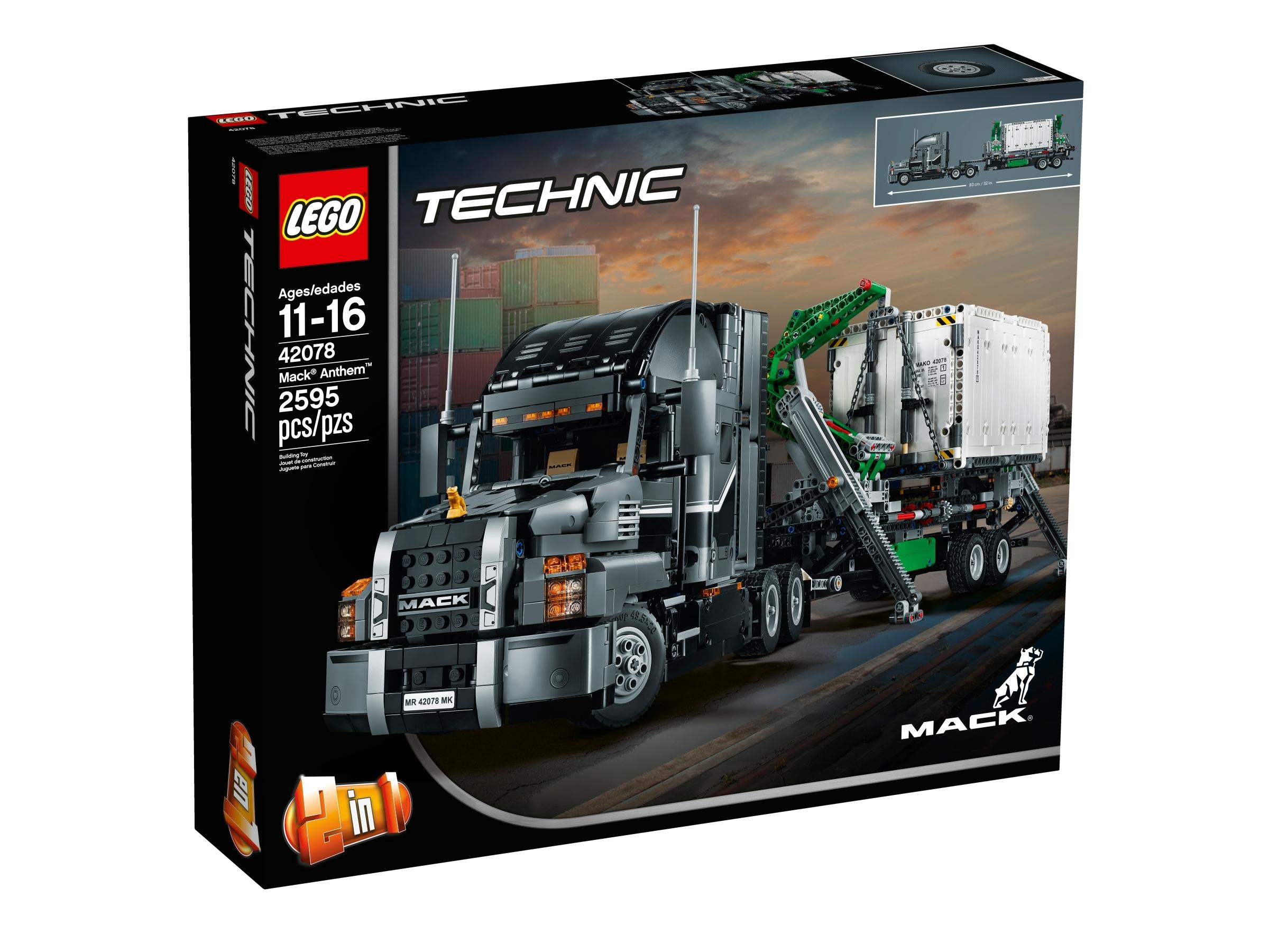 Mack Anthem 42078 Technic Buy Online At The Official Lego Shop Au