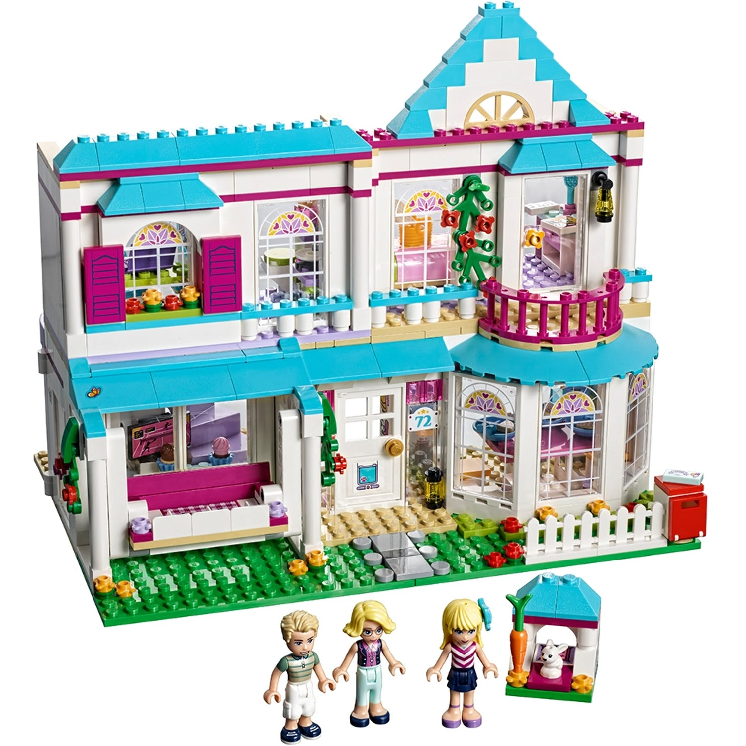 Stephanie S House 41314 Friends Buy Online At The Official Lego Shop Us