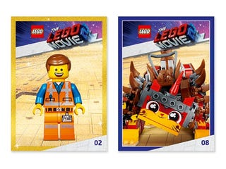 FREE THE LEGO® MOVIE 2™ Trading Card Packs!*