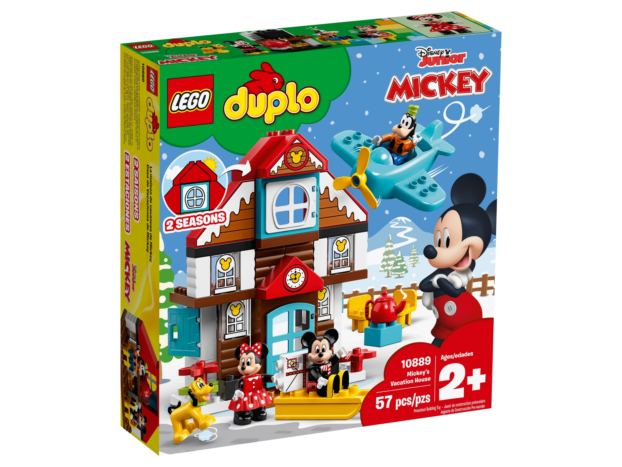 Mickey S Vacation House 10889 Disney Buy Online At The Official Lego Shop Us