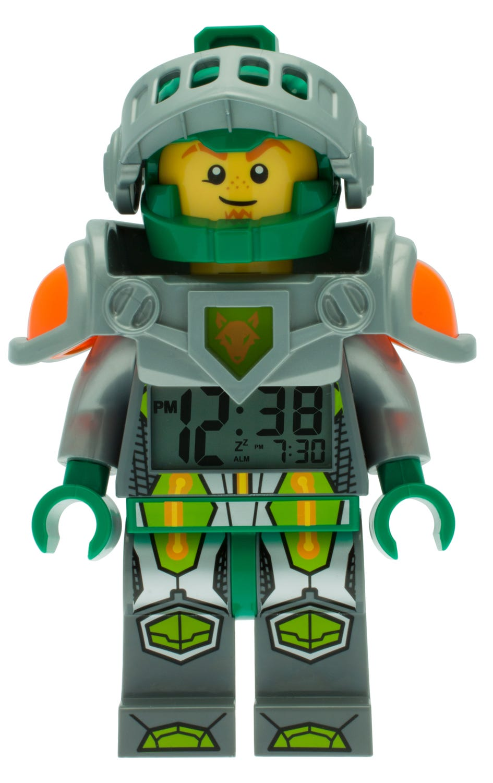 LEGO® NEXO KNIGHTS™ Aaron Minifigure Alarm Clock