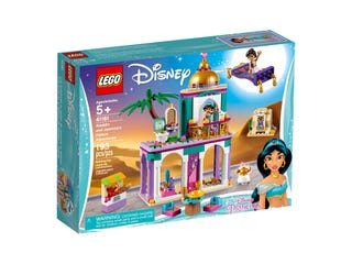 Aladdins en Jasmines paleisavonturen