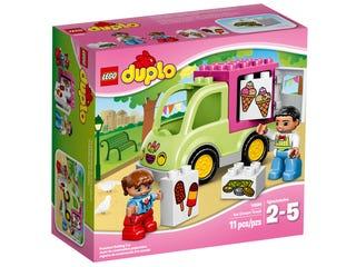 la camionnette de glaces