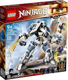 Le robot de combat Titan de Zane