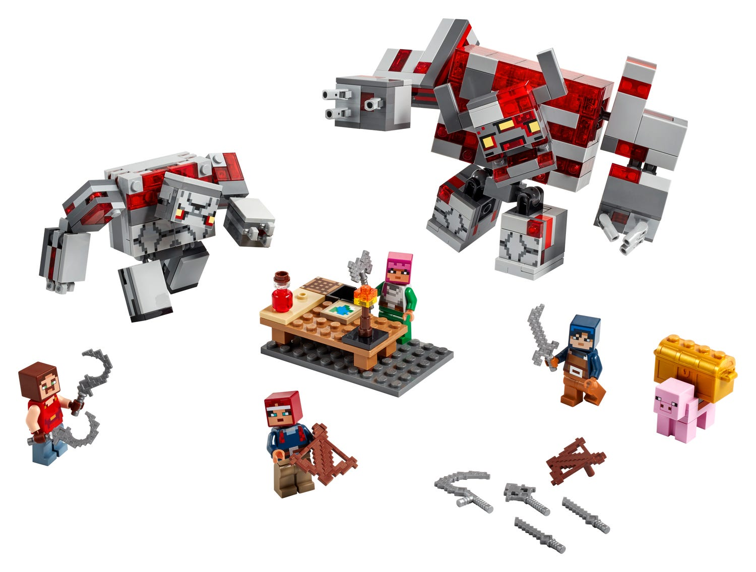 The Redstone Battle 11  Minecraft™  Buy online at the Official LEGO®  Shop CZ
