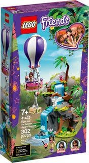 Tiger Hot Air Balloon Jungle Rescue