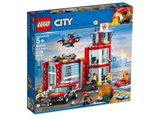 Fire Station 60215 City Buy Online At The Official Lego Shop Us