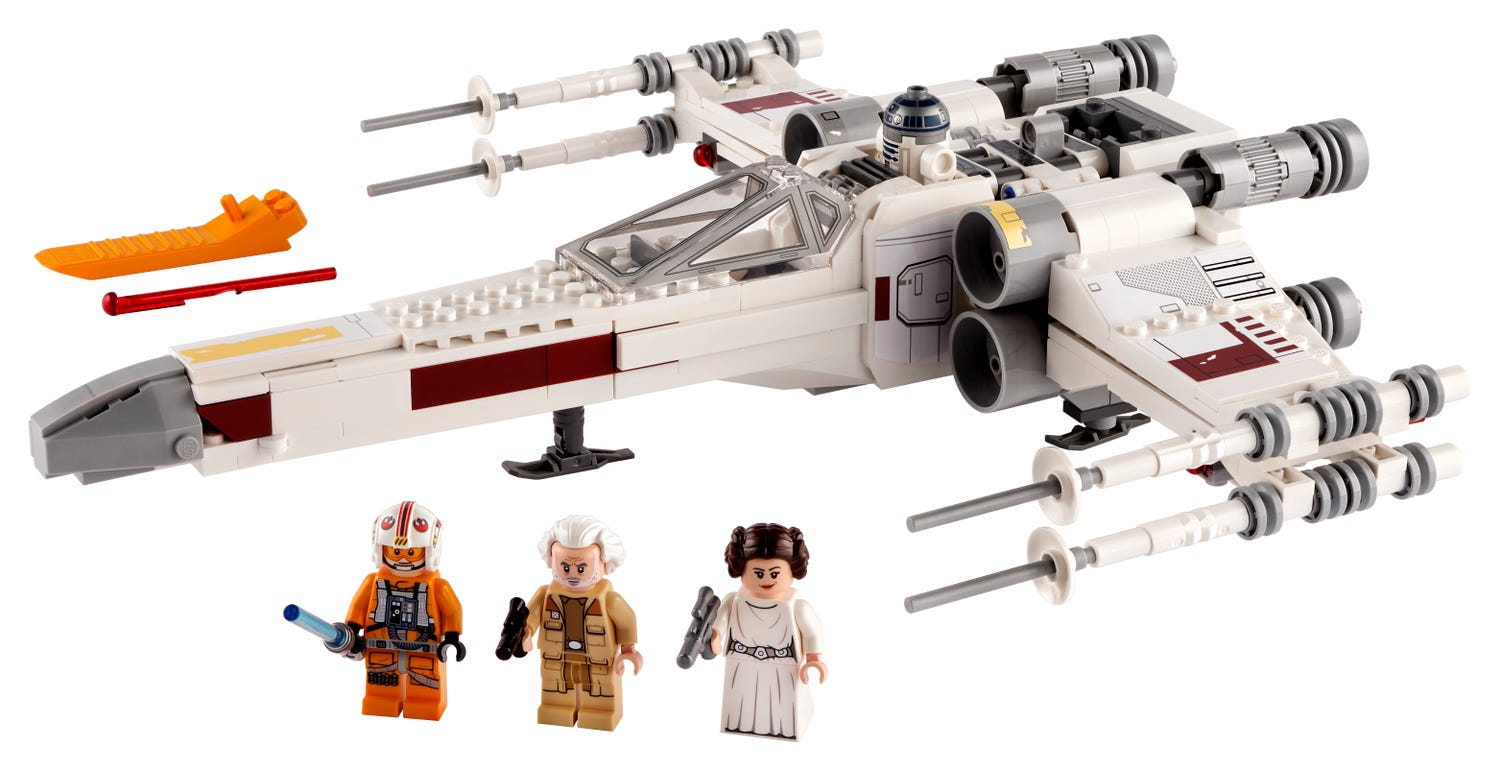 Luke Skywalker's X-Wing Fighter™