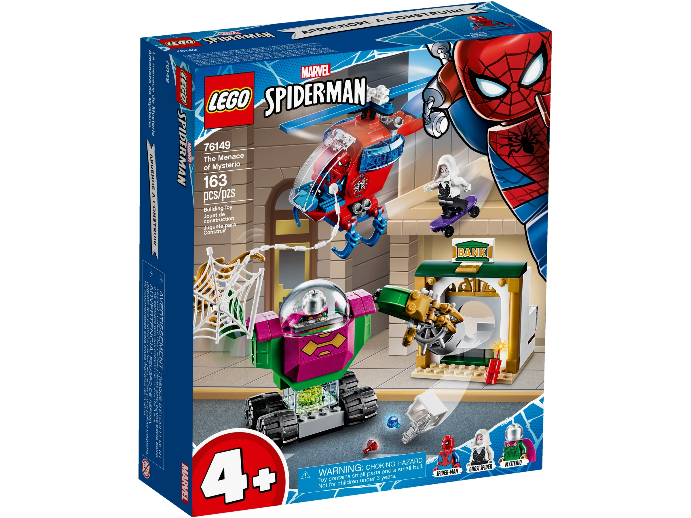 Lego 76149 Marvel Super Heroes The Menace of Mysterio Spiderman