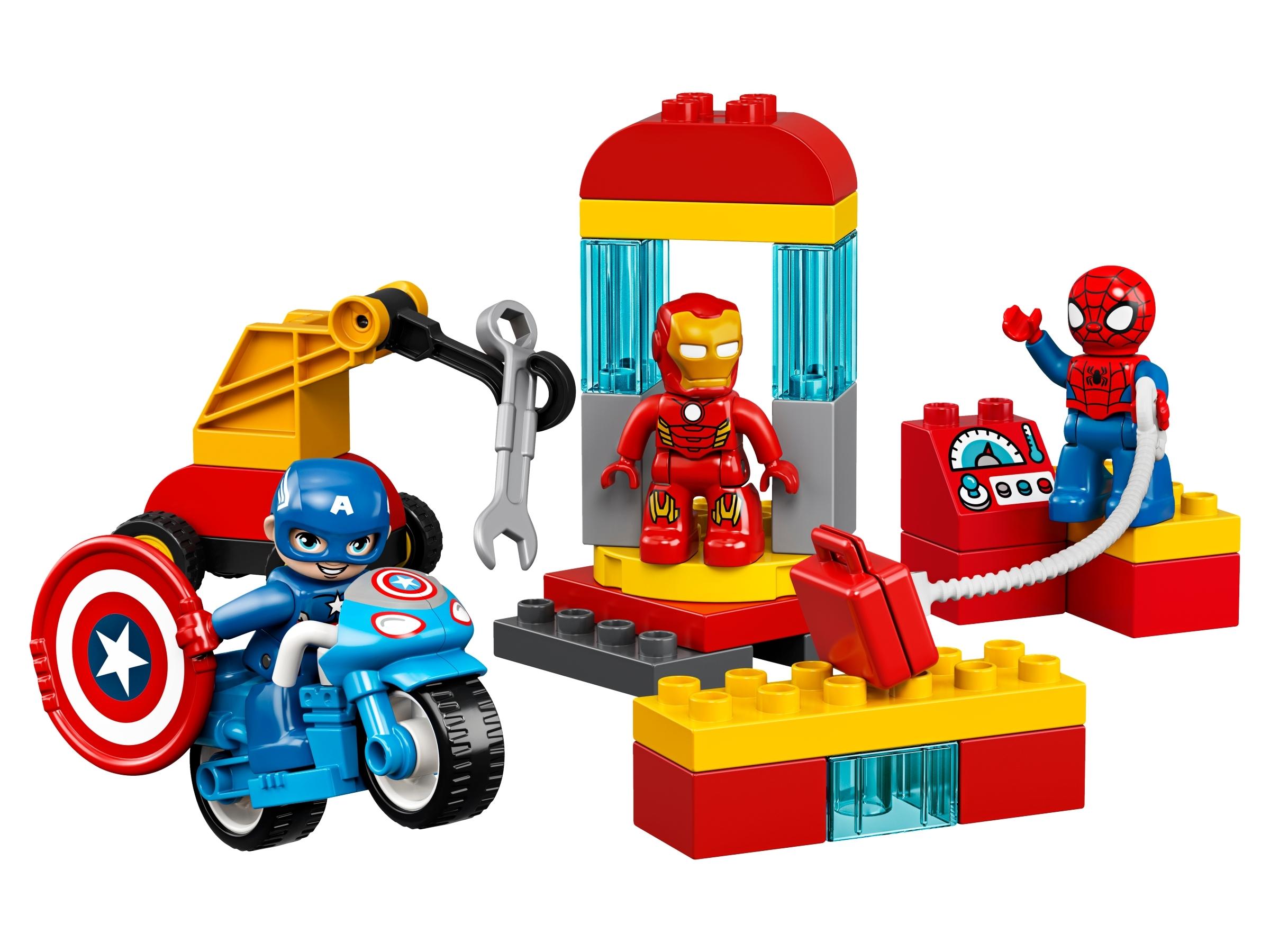Super Heroes Lab 10921 | LEGO® Marvel | Buy online at the Official LEGO® Shop SE
