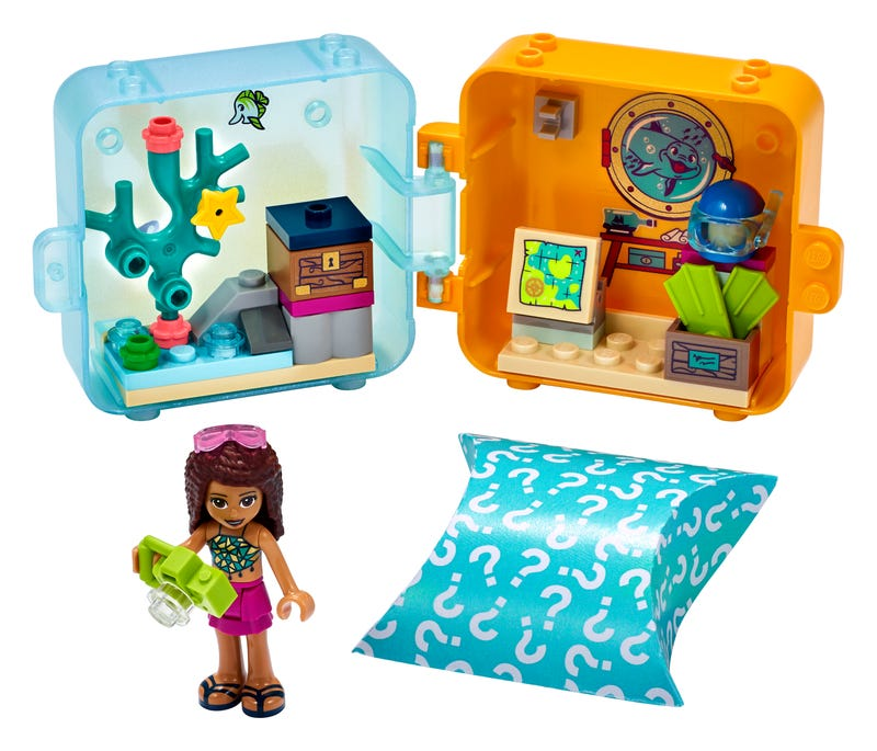 Andrea's Summer Play Cube