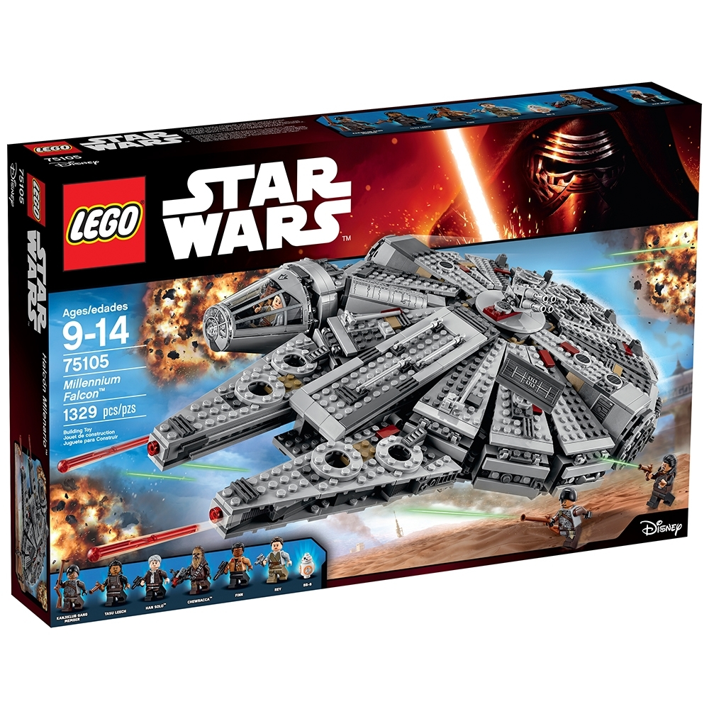 Millennium Falcon 75105 Star Wars Buy Online At The Official Lego Shop Us