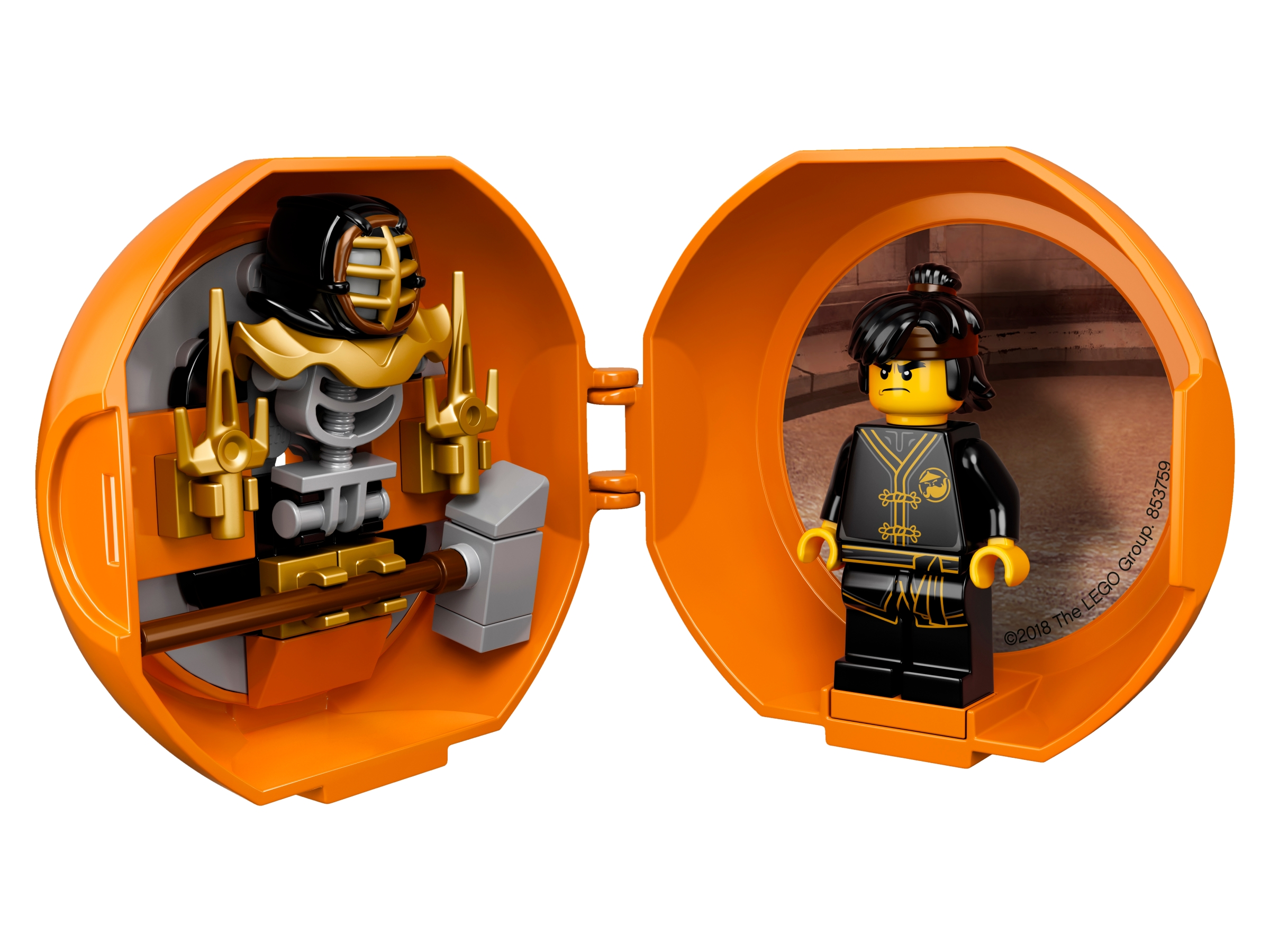 Lego Ninjargo Cole With Hammer Mini Figure Polybag