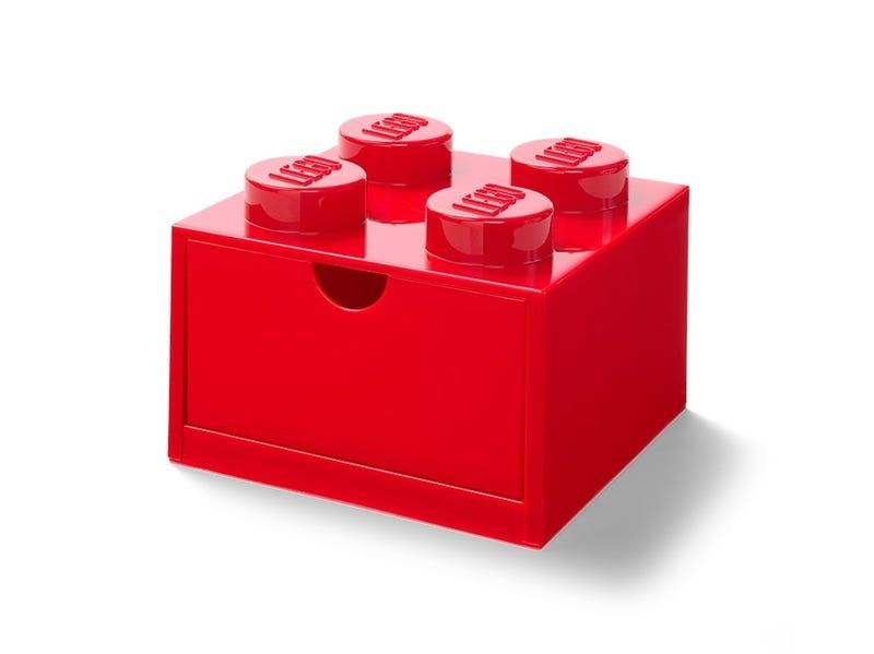 LEGO® 4-Stud Red Desk Drawer