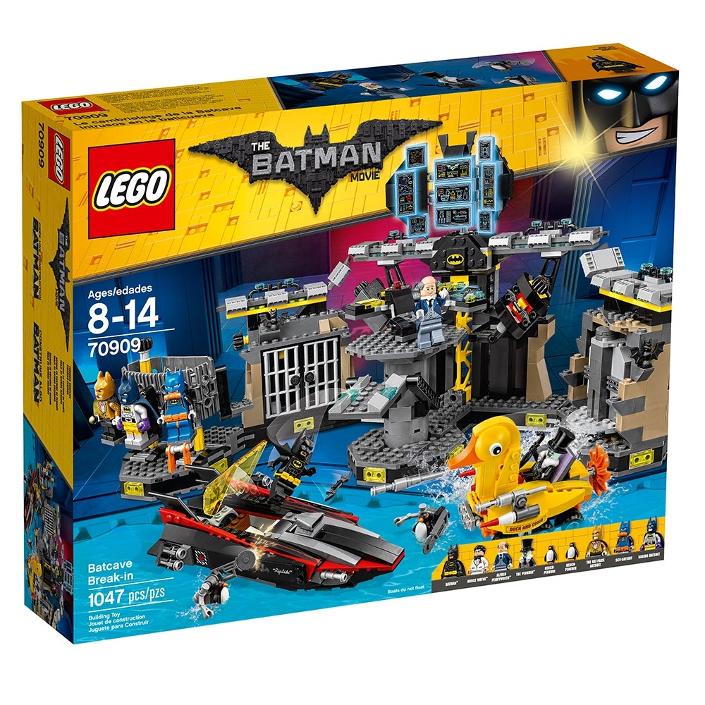 Lego BATMAN MOVIE Raging Batsuit Minifigure New 70909 batcave break-in Minifig
