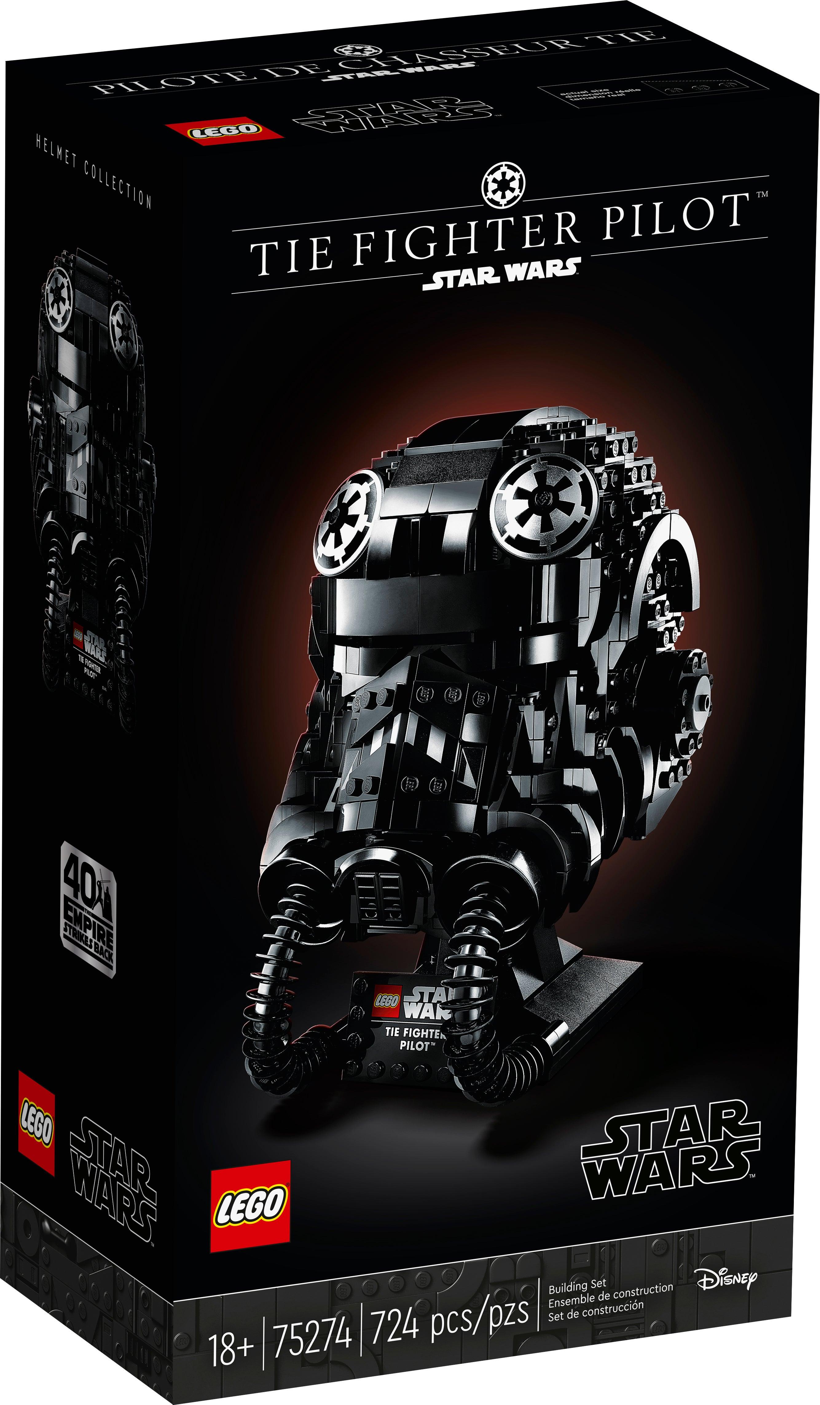 New LEGO Star Wars TIE Pilot Minifigure 75194 TIE Fighter Microfighter sw902