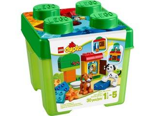 Boîte de briques et d'animaux LEGO® DUPLO®