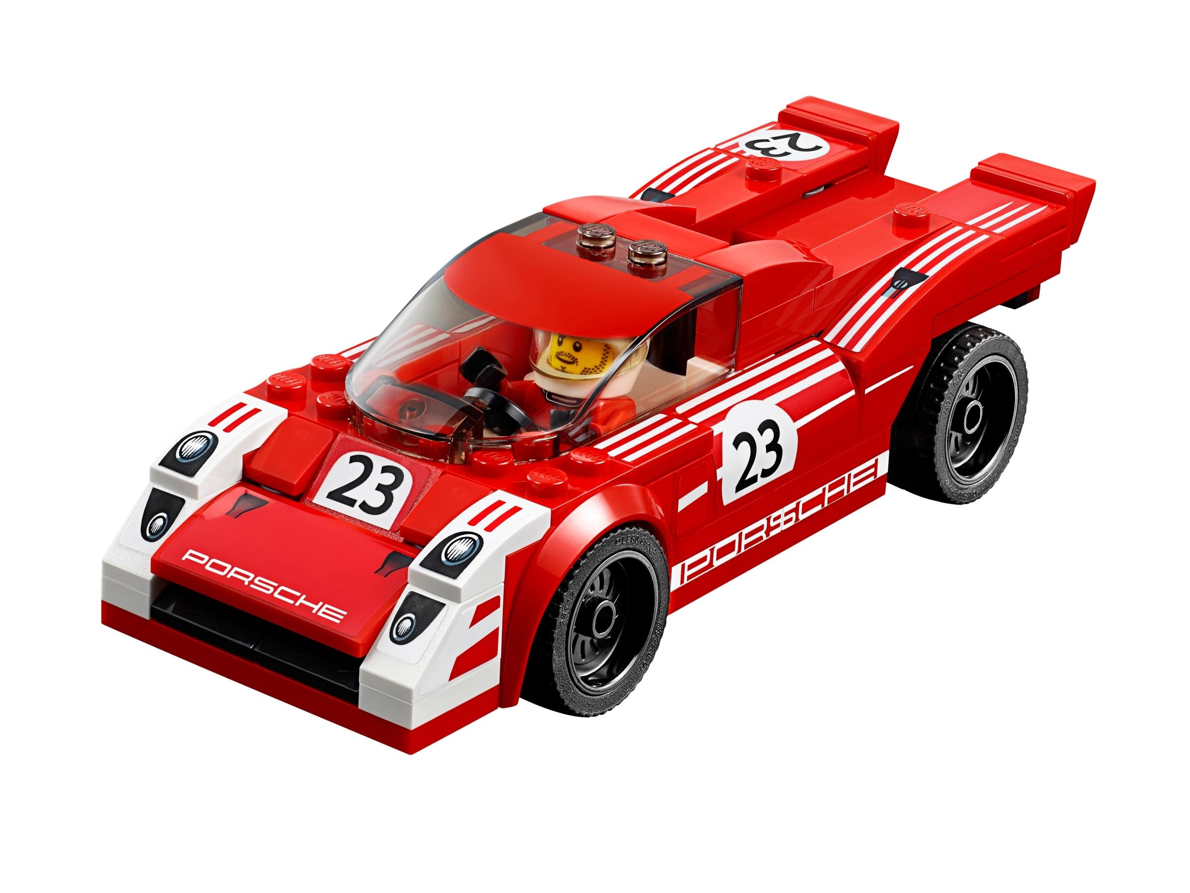 CUSTOM sticker for LEGO 75876 Prosche 919 Hybrid and 917K Pit Lane top quality.