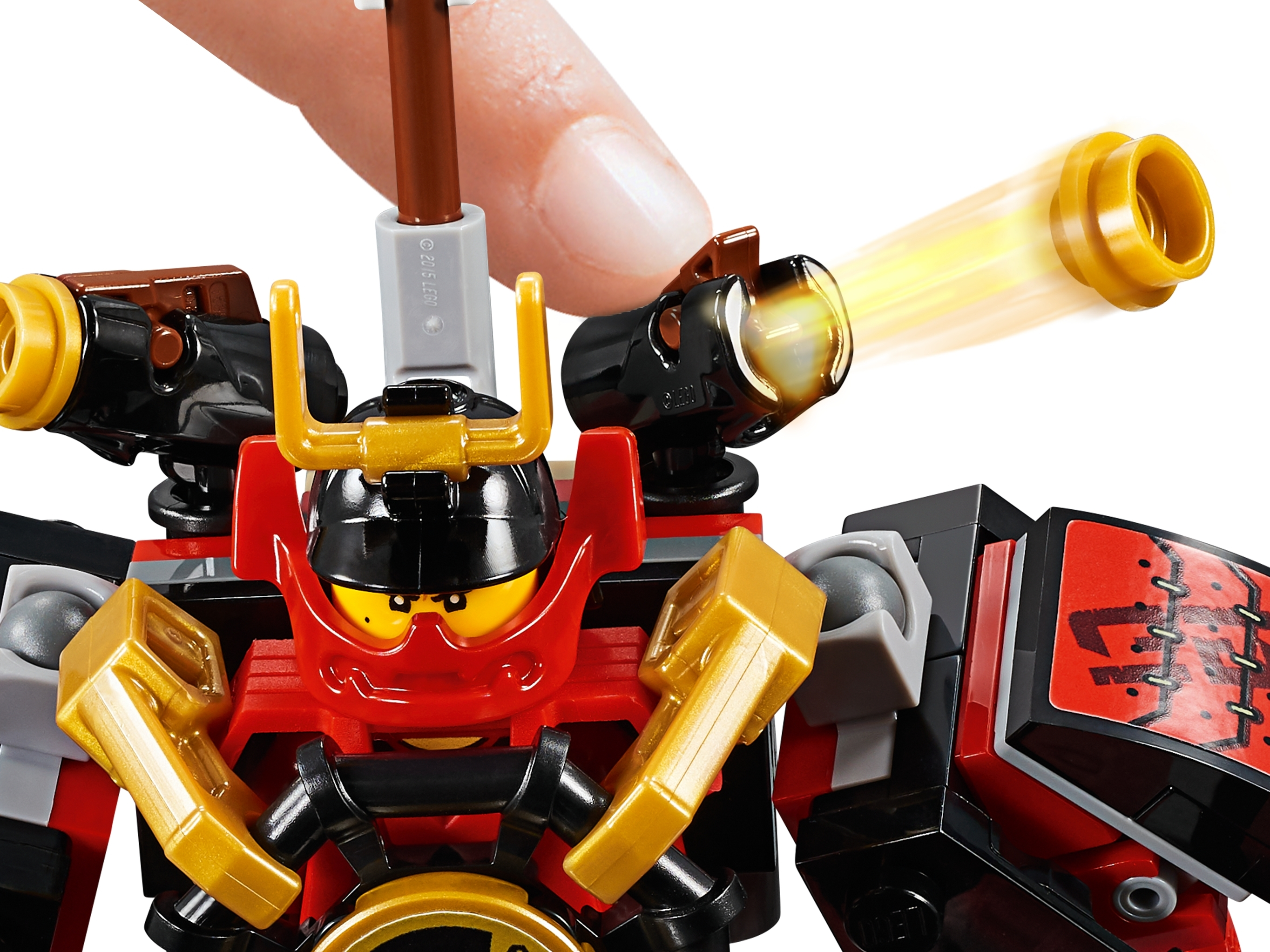 NEW LEGO Skeleton Warrior with Samurai Helmet FROM SET 70665 NINJAGO njo504