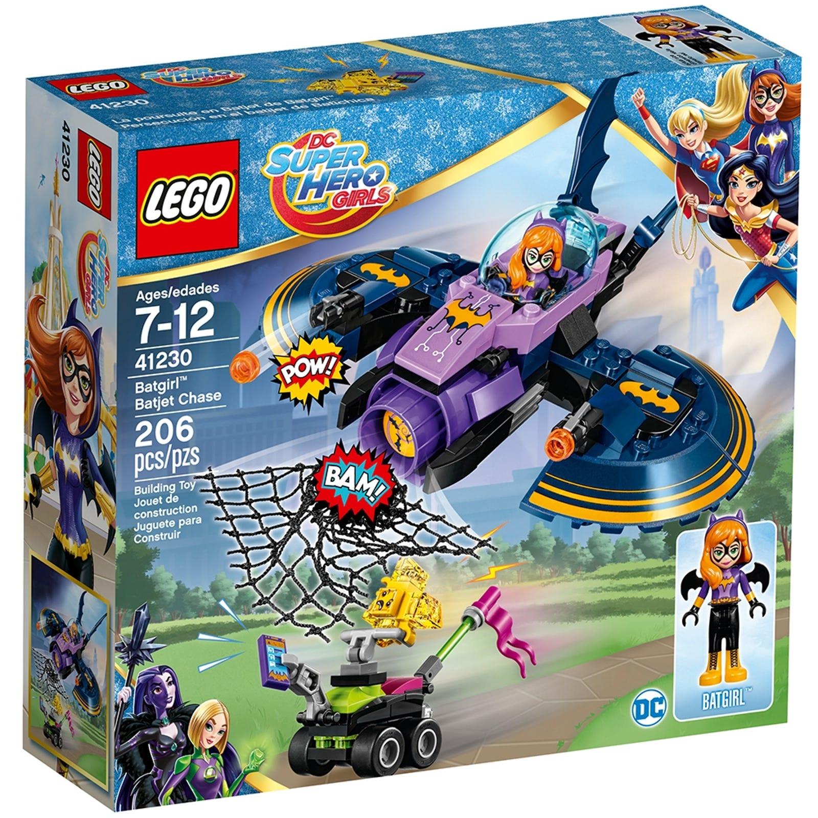 Batgirl Batjet Chase 41230 Dc Super Hero Girls Buy Online At The Official Lego Shop Pt