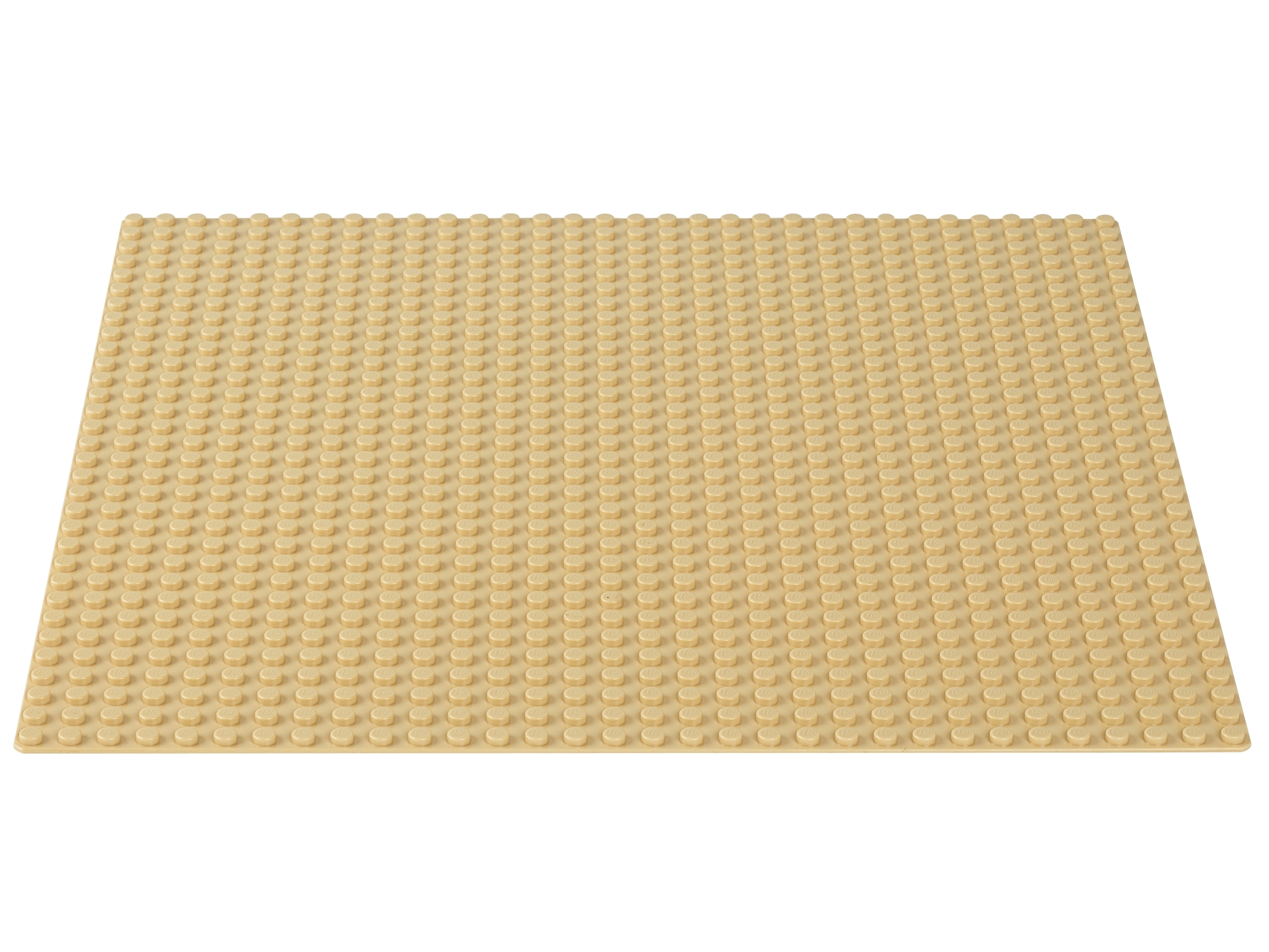 """Lego Classic Sand Baseplate Toy Game Kids Play Gift Measures 32X32 Studs Or 10/"""""""