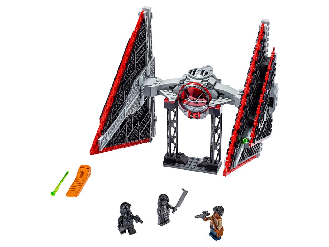 Sith TIE Fighter™ 75272 | Star Wars™ | Buy online at the Official ...