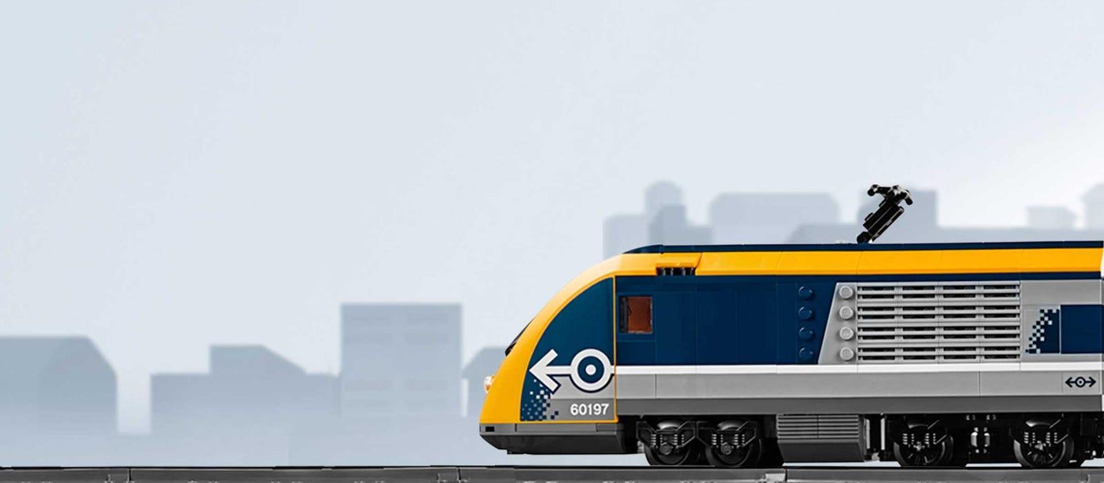 Pociągi City — sekcja główna