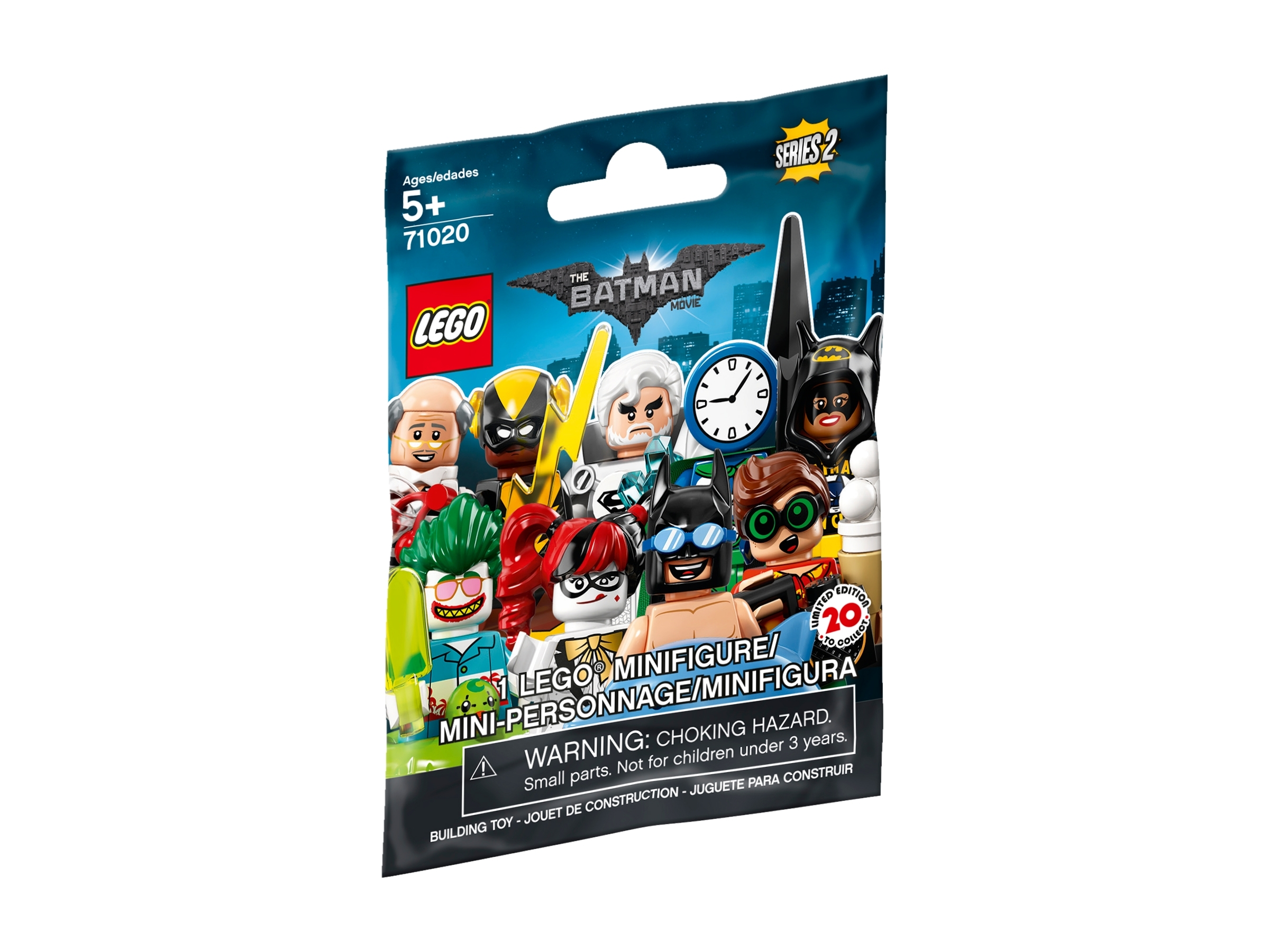 Lego ® Minifig Batman Movie Series 2-71020-Tous les 20 personnages