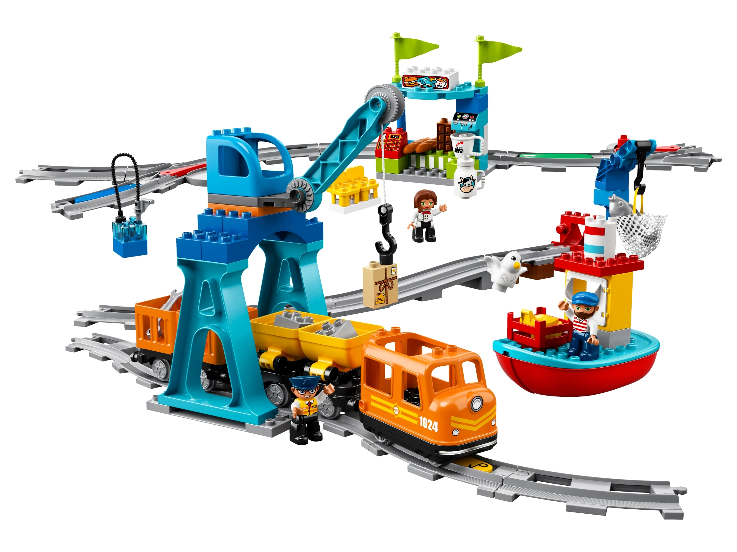 Cargo Train 10875 | DUPLO® | Buy online at the Official LEGO ...