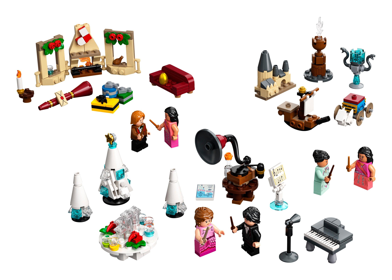 LEGO Harry Potter Advent Calendar 75964 Microbuild x2 Table w// Candle /& Glasses