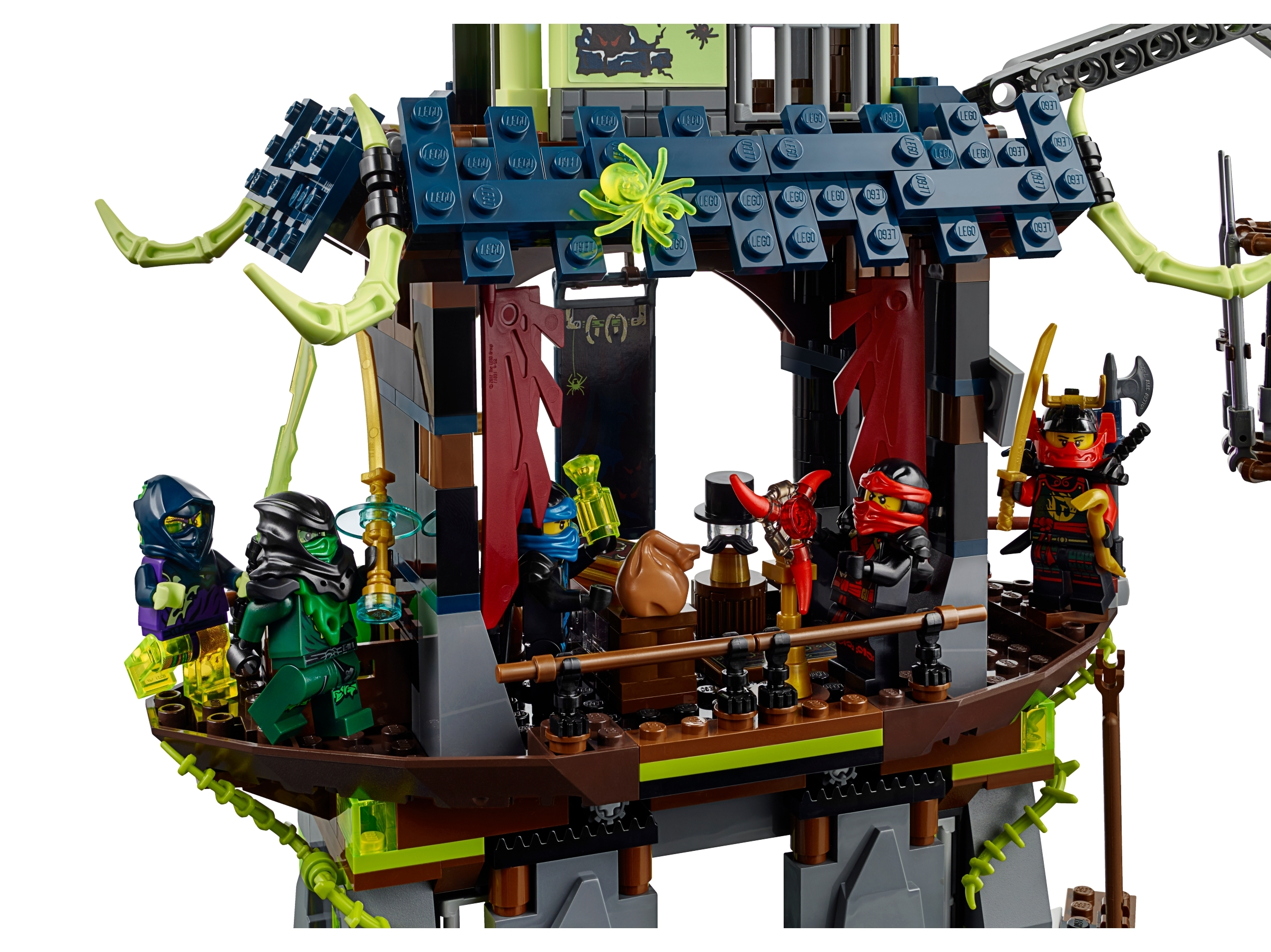 70732 CITY OF STIIX  lego legos set NEW ninjago ninja Kai Jay Nya Wrayth Cyrus