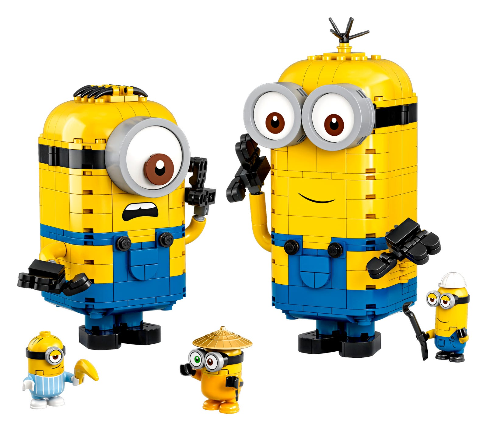 Brick-built Minions and their Lair 75551 | Minions | Buy online at ...