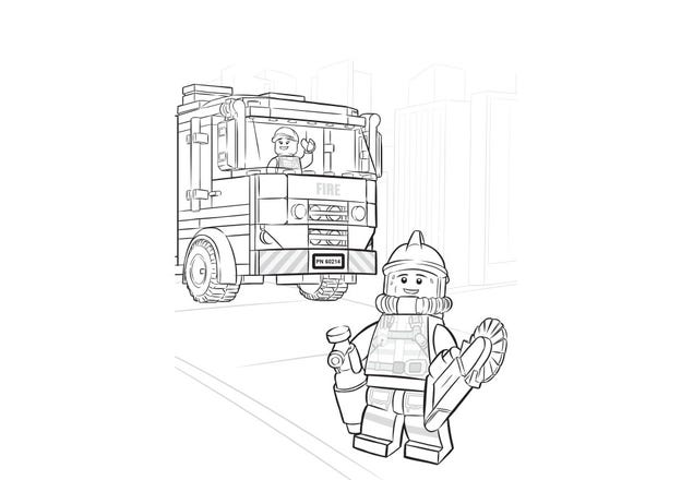 Lets Build Together Coloring Page Official Lego Shop Gb