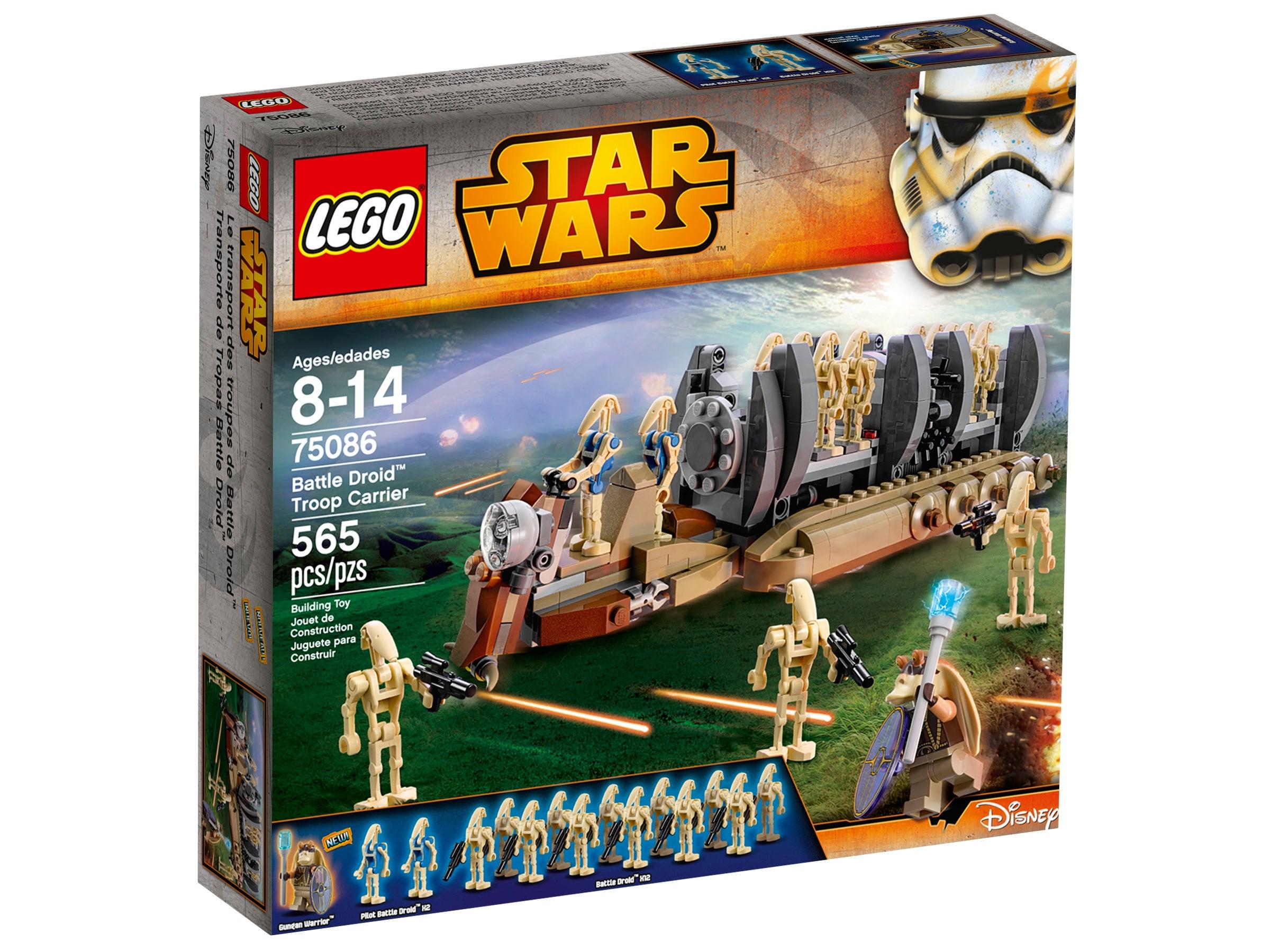 Droide mit Dunkel Roten Oberkörper Lego Star Wars Figur