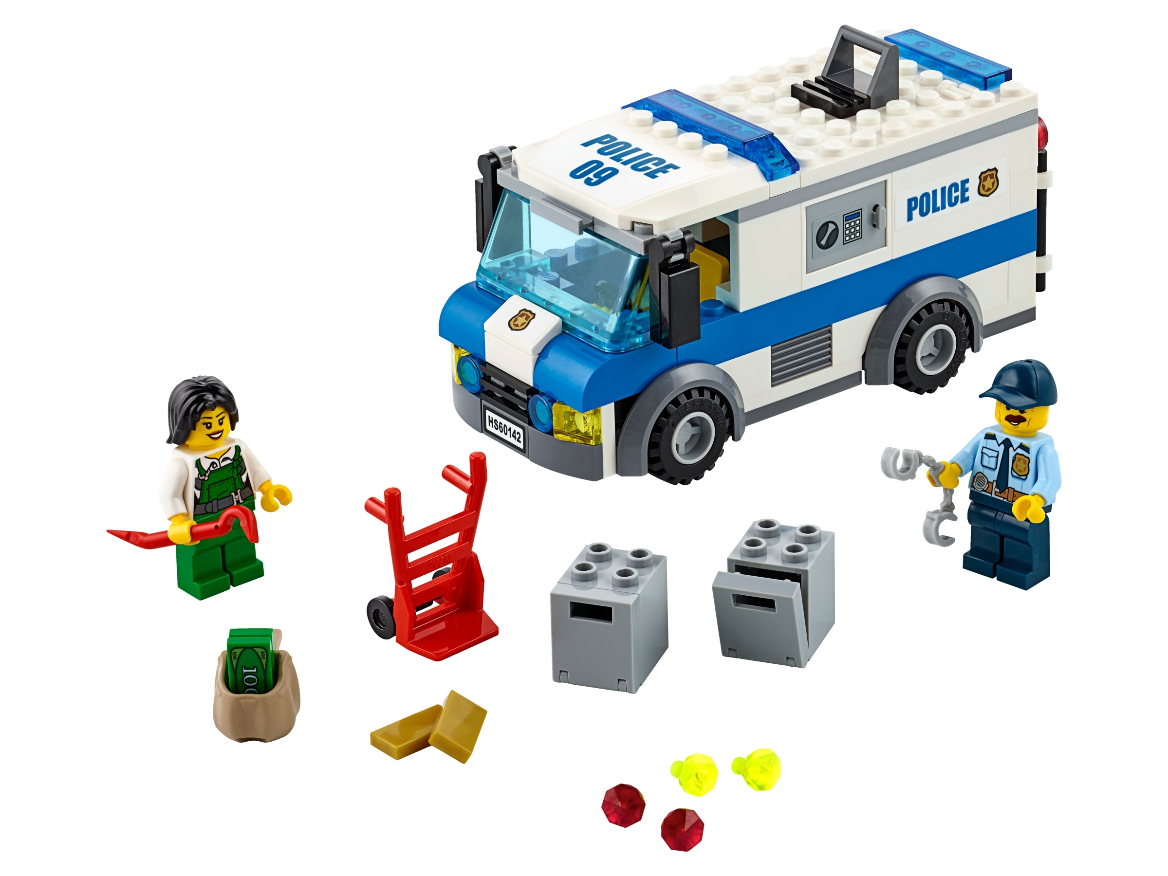 From set 60142 Accessories Policeman Minifigure NEW LEGO City Police