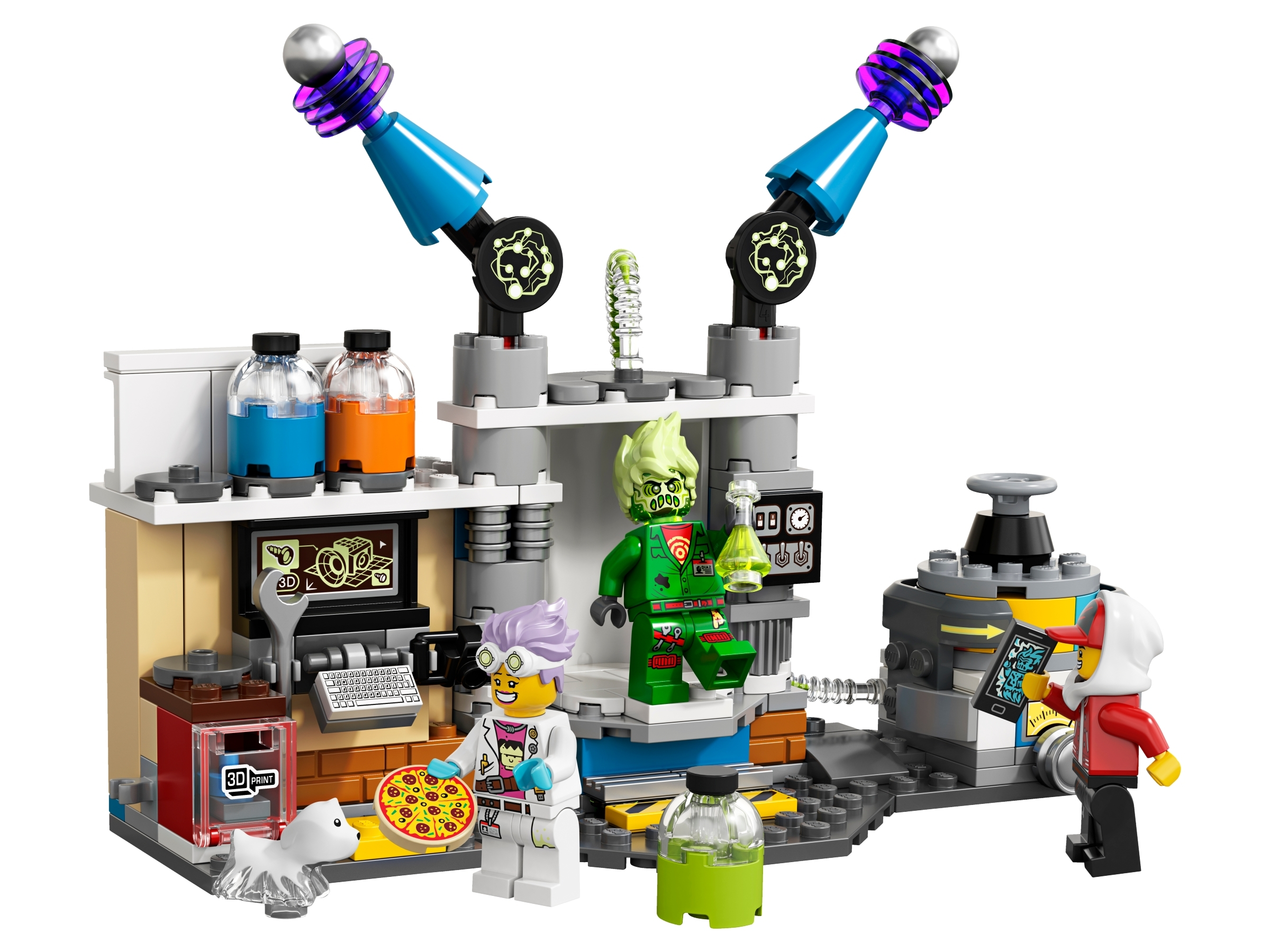 LEGO Minifigure Jack Davids NEW-from Hidden Side J.B./'s Ghost Lab set 70418