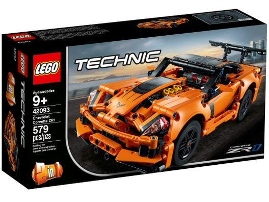 Chevrolet Corvette Zr1 42093 Technic Buy Online At The Official Lego Shop Us