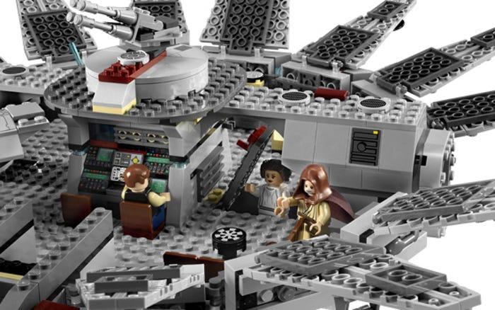 2011's Millennium Falcon hidden space