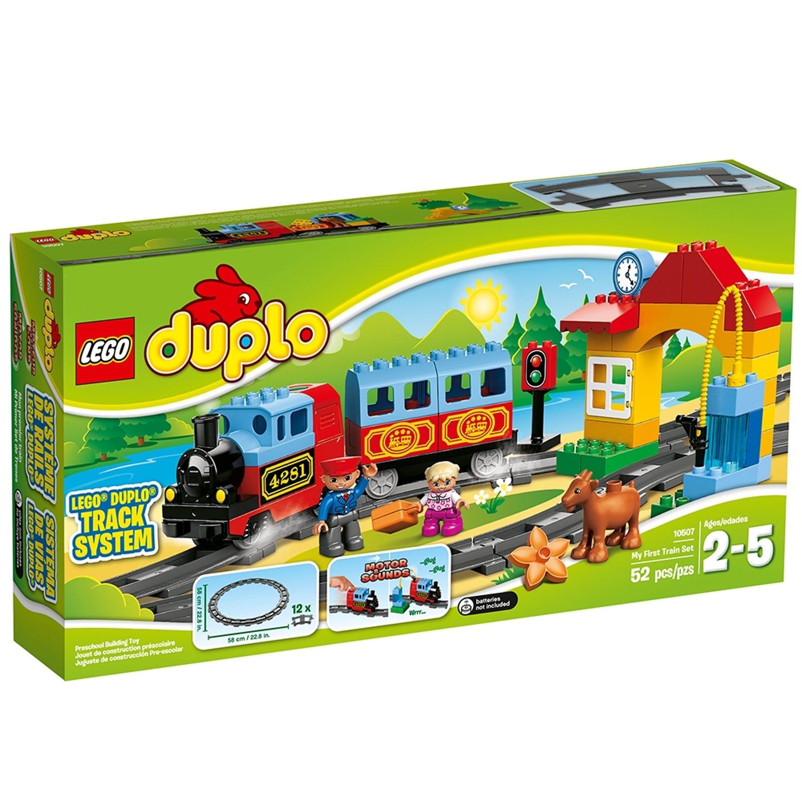Eisenbahn Starter Set 10507 Duplo Offiziellen Lego Shop De