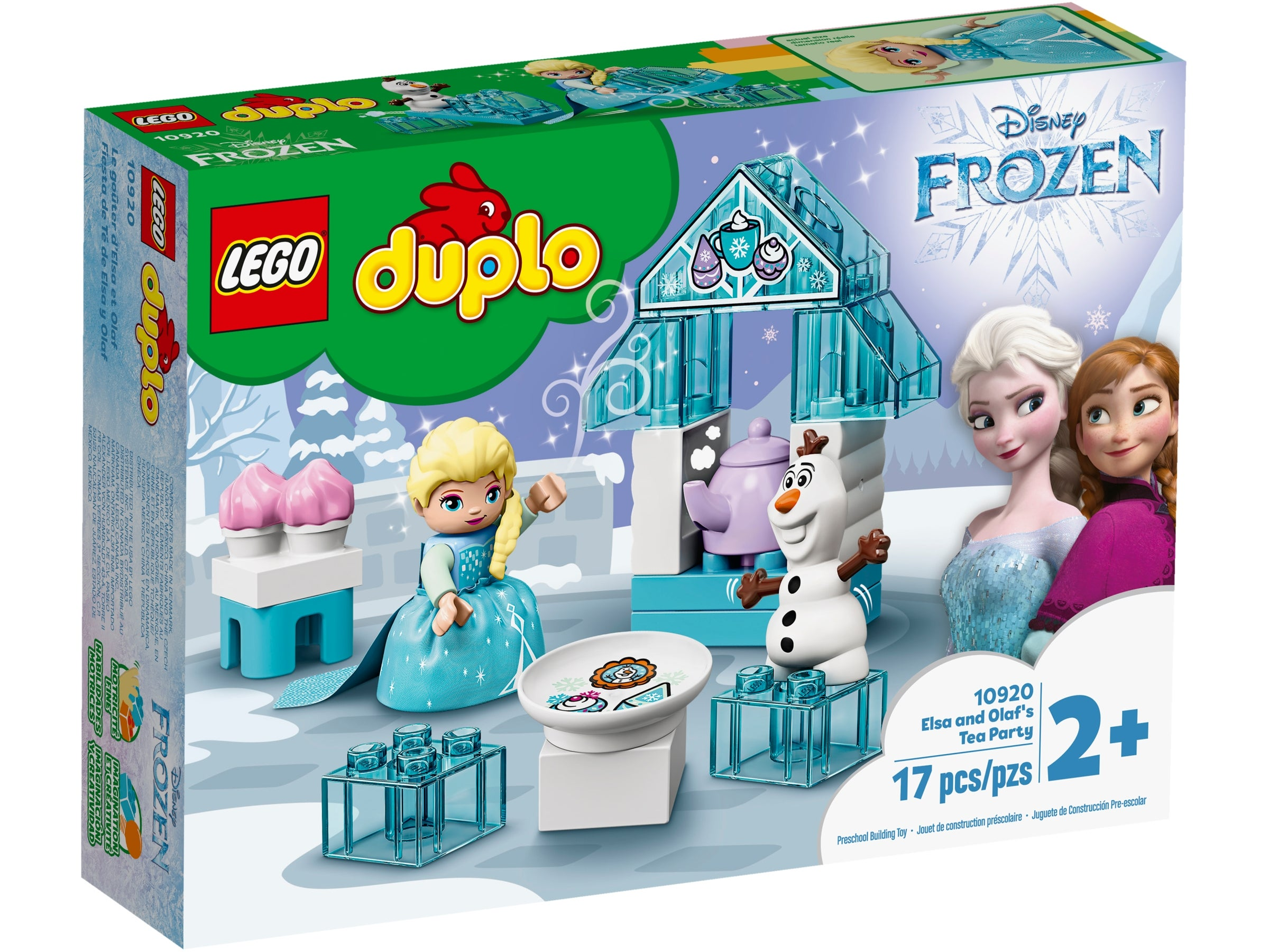LEGO 10920 DUPLO Frozen II Elsa and Olaf/'s Ice Party