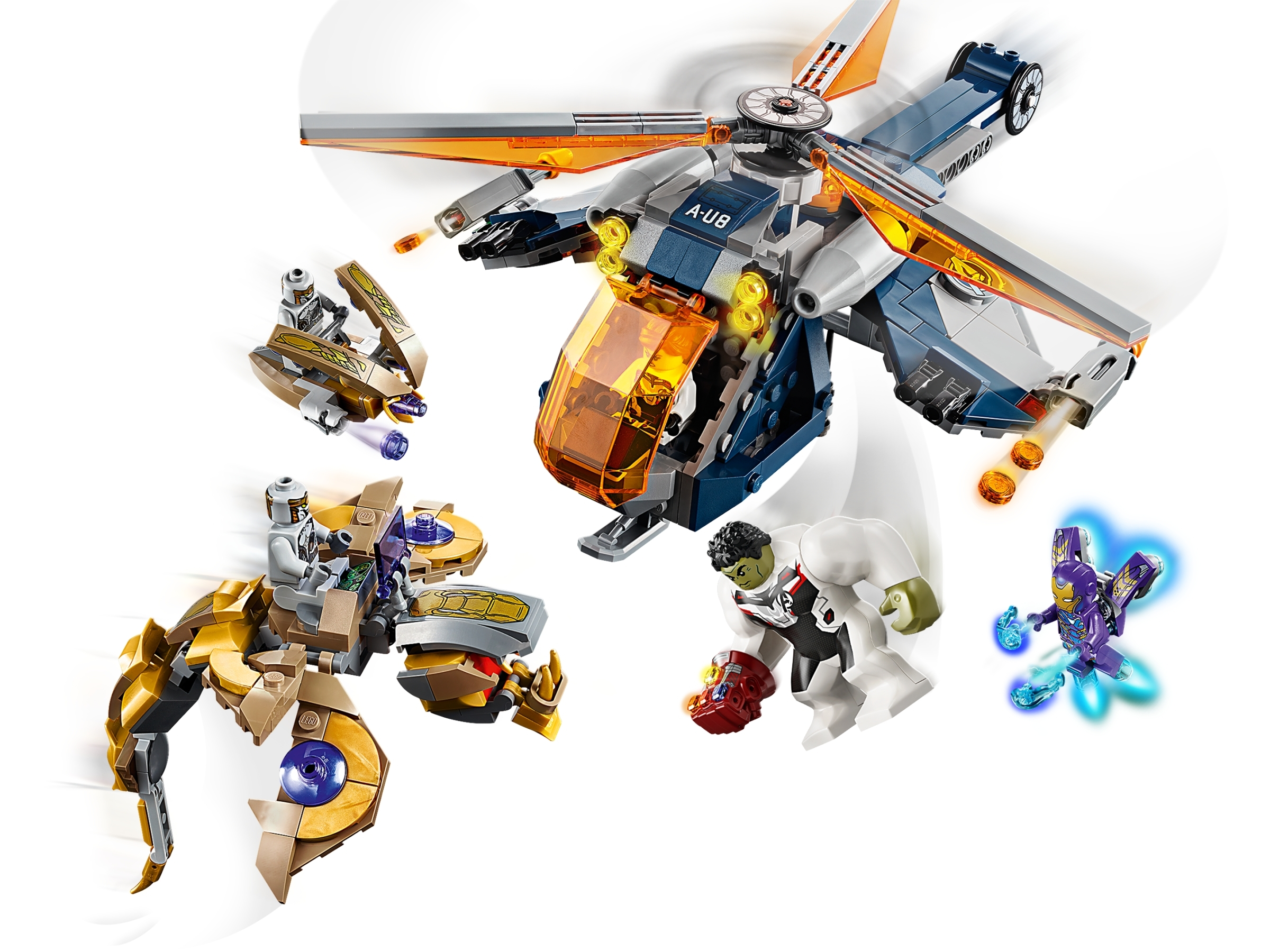 LEGO Chitauris/' /& Leviathan /& Flyer only Split From LEGO Avengers 76144